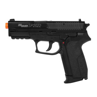 Pistola De Airsoft Spring Cybergun Sig Sauer Sp2022 - Half Metal