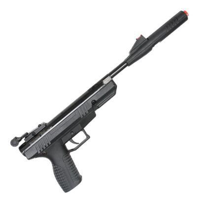 Pistola De Pressão Benjamin Bbp77 4.5Mm Np C/ Prolongador de Cano - Unissex