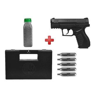 Pistola de Pressão CO2 Umarex UX XBG 4.5mm + Kit Munição + Maleta