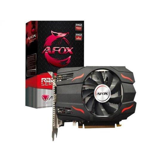 Placa de Vídeo Afox Radeon RX 550 4GB - Preto