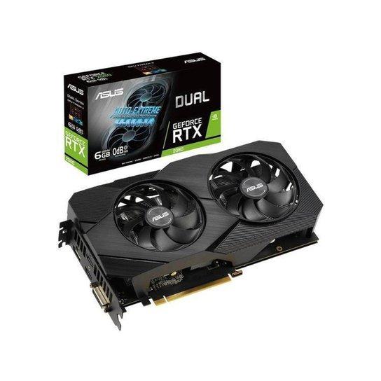 Placa de Vídeo Asus NVIDIA GeForce RTX 2060 - Preto