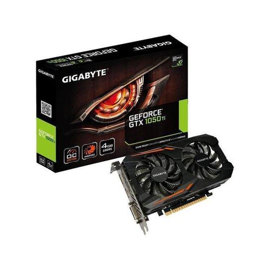 Placa de Vídeo Gigabyte GeForce GTX 1050 TI - Preto