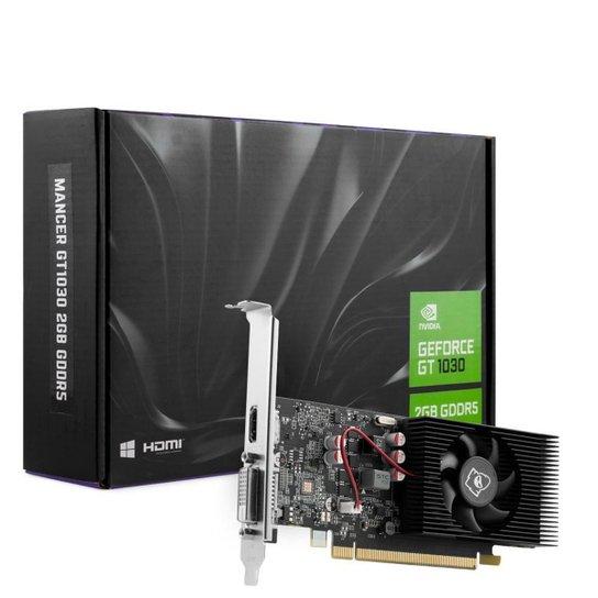 Placa de Vídeo Mancer GeForce GT 1030 2GB GDDR5 64Bit, MCR-1030GD5-V1 - Preto