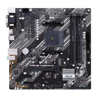 Placa Mae Asus PRIME A520M-A DDR4 Socket AM4 Chipset AMD A520