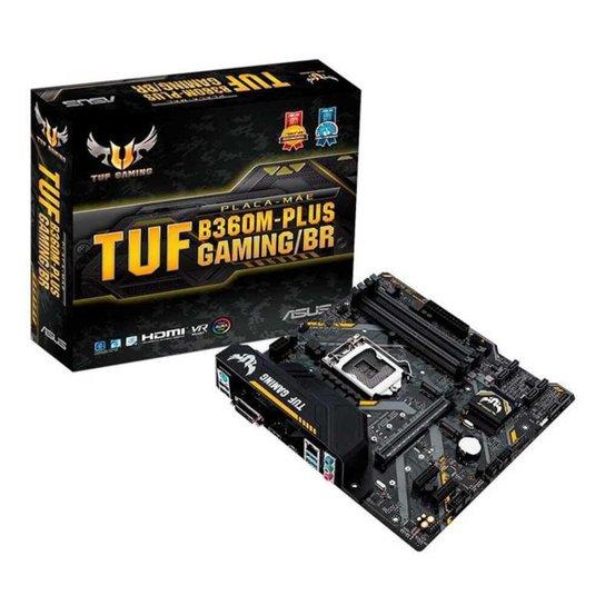 Placa Mae Asus TUF B360M-PLUS GAMING/BR DDR4 Socket LGA1151 Chipset Intel B360 - Preto