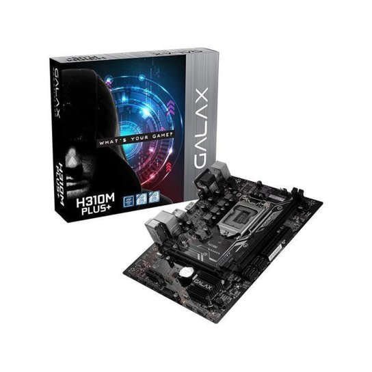 Placa Mãe Galax H310M Plus+ Intel LGA 1151 DDR4 - N/A
