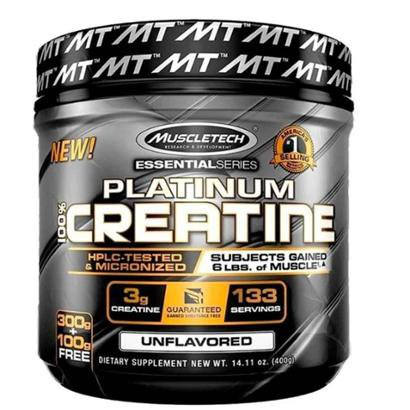 Platinum 100% Creatine (400G) Muscletech