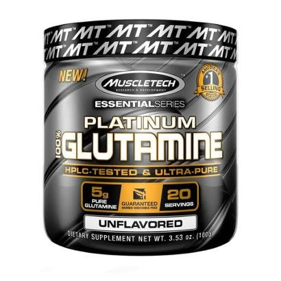 Platinum 100% Glutamina 100G Muscletech