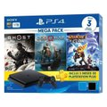 PlayStation 4 Mega Pack V18 2021 1TB 1 Controle