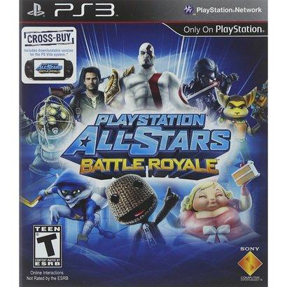 Uma Verdadeira Guerra De Titãs Espera Por Você Em Playstation All-Stars Battle Royale. É Um Game Que Reúne Mais De 20 Pe...