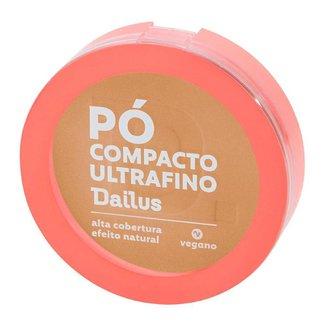 Pó Compacto Dailus – Pó Compacto Ultrafino D5 Médio