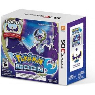 Pokemon Moon + Bonus Lunala Figure - 3Ds