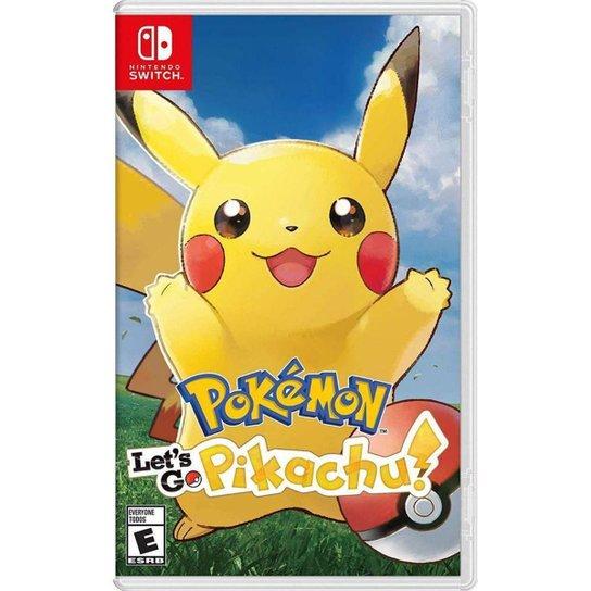 Pokemon: Let's Go Pikachu - Switch - Incolor
