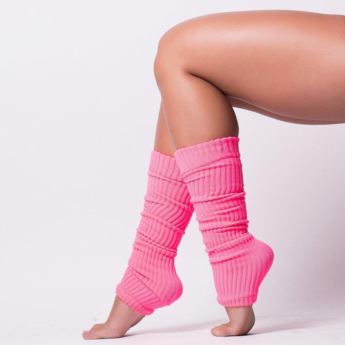 Polaina Fitness Ballet Neon Fashion FB115E - Compre Agora  d68ff95d554