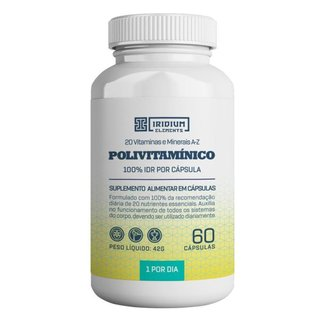 Polivitamínico 60 caps - Iridium Elements