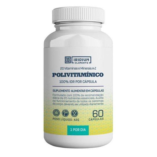 Polivitamínico 60 caps - Iridium Elements -