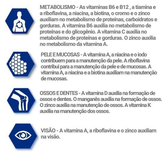 Polivitamínico A Z 3x Homem e 3x Mulher Kit Par Perfeito Catarinense - Branco
