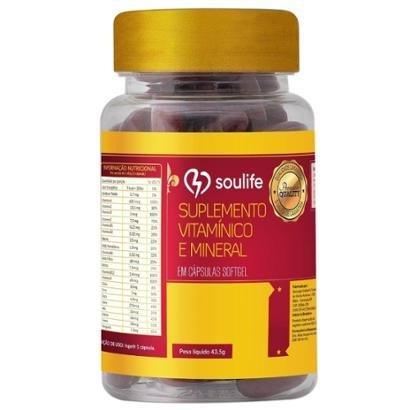 Polivitamínico e Minerais 1000mg - 150 Cáps - Soulife