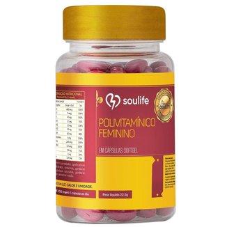 Polivitamínico Feminino - 30 Cáps - Soulife