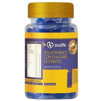 Polivitaminico Gestantes Soulife - 150 Cáps