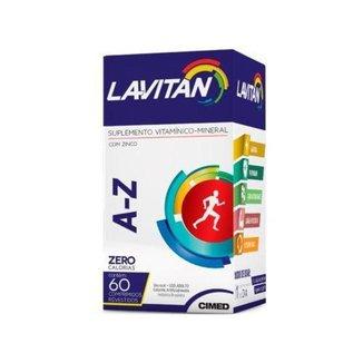 Polivitamínico Lavitan A-Z - 60 Comprimidos Cimed