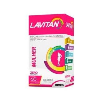Polivitamínico Lavitan Mulher - 60 Comprimidos  Cimed