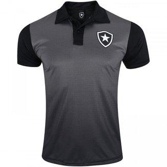 Polo Botafogo Dots Masculina - Preta