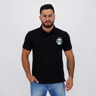 Polo Grêmio Escudo Masculino