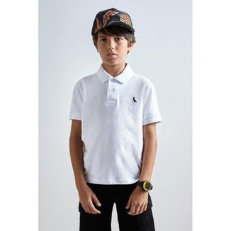 Polo Mini Infantil Basica MC Reserva Mini Masculina