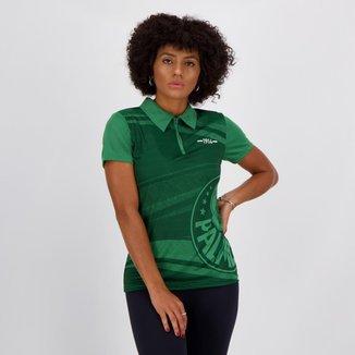 Polo Palmeiras Waves Feminina Verde