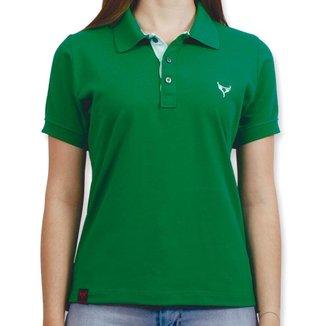 Polo Stouro Feminina - Verde Bandeira