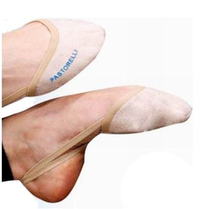 Ponteira Sapatilha Microfibra Para Ginástica Rítmica Ballet Pastorelli - Unissex