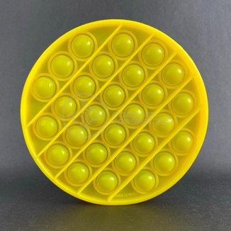Pop It Circular Fidget Toy Brinquedo Silicone Anti Stress Estourar Bolha Sensorial