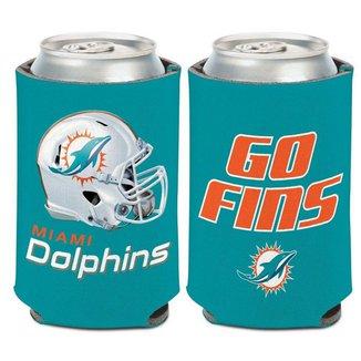 Porta Latinha Slogan Team Miami Dolphins