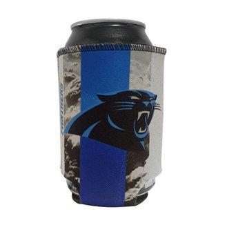 Porta Latinhas Neoprene Carolina Panthers NFL Preto
