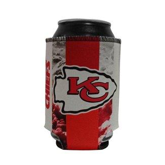 Porta Latinhas Neoprene Kansas City Chiefs NFL Vermelho