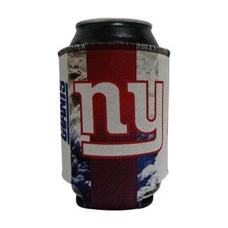 Porta Latinhas Neoprene New York Giants NFL Vermelho