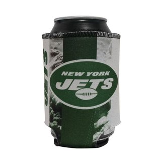 Porta Latinhas Neoprene New York Jets NFL Verde