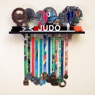 Porta Troféus e Medalhas Judô Masculino