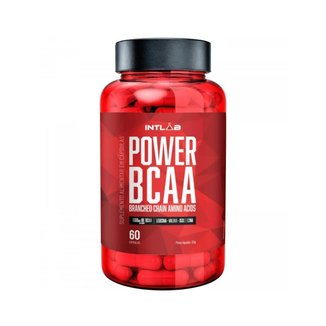 POWER BCAA (60 cápsulas - 400mg) - INTLAB