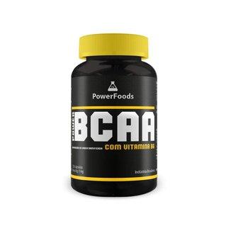 Power BCAA 120 cápsulas PowerFoods
