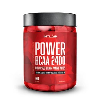 Power Bcaa 2400 60 Cápsulas - Intlab