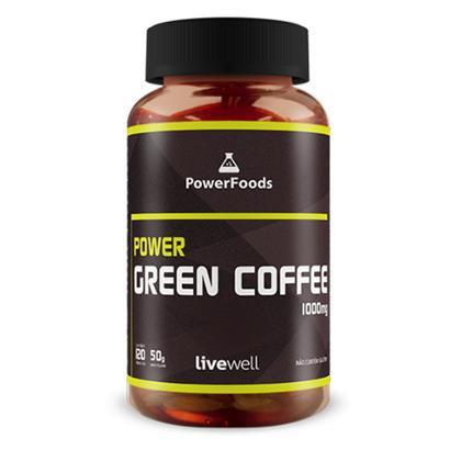 Power Green Coffee - 120cáps - PowerFoods
