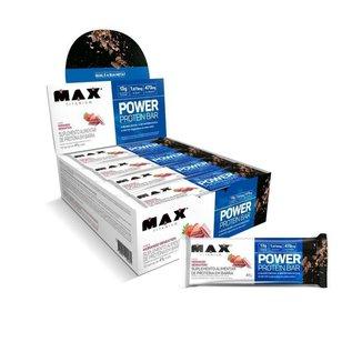 Power Protein Bar 41G Display Com 12 Unid Max Titanium