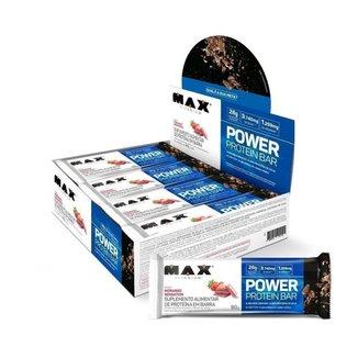 Power Protein Bar  Display Com 8 Unid. De 90G Max Titanium