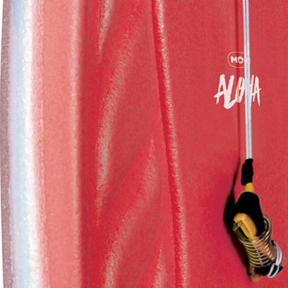 Prancha Bodyboard  Aloha 1,02m x 54cm - Vermelho