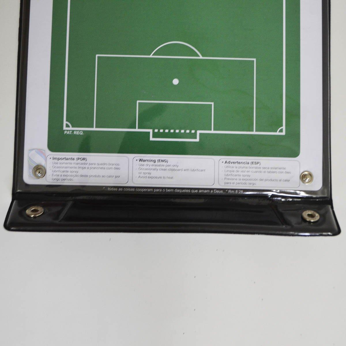 Prancheta Tática Magnética Futebol De Campo Kief Imã  Caneta - Verde ... b92d25f5cc046