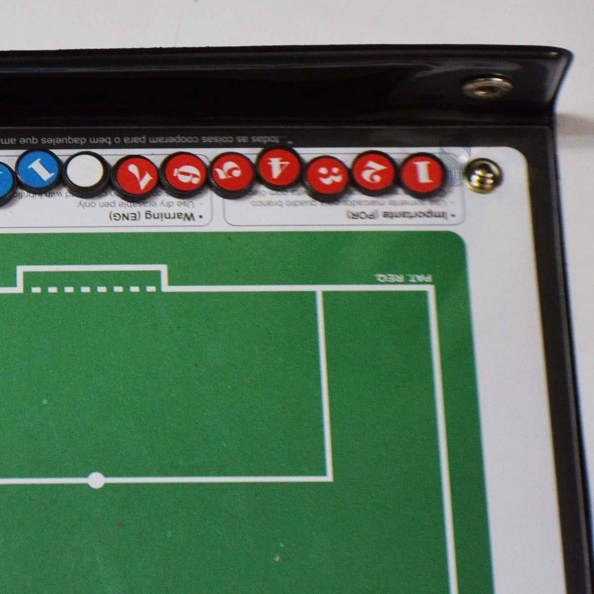 ... Prancheta Tática Magnética Futebol Society Kief - Imã Caneta ... 2754ac4d84ab3