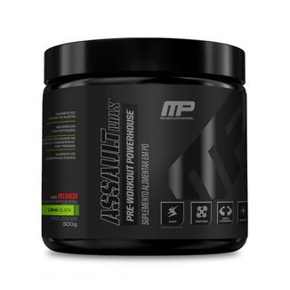 PRÉ-TREINO ASSAULT BLACK MAX (300g) - MusclePharm