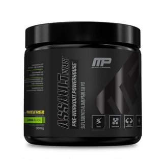 Pré Treino Assault Black MP MusclePharm 300g - Muscle Pharm
